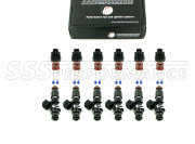 SSSperformance  injectors 800cc 14-60-14-6c (6 cylinders)